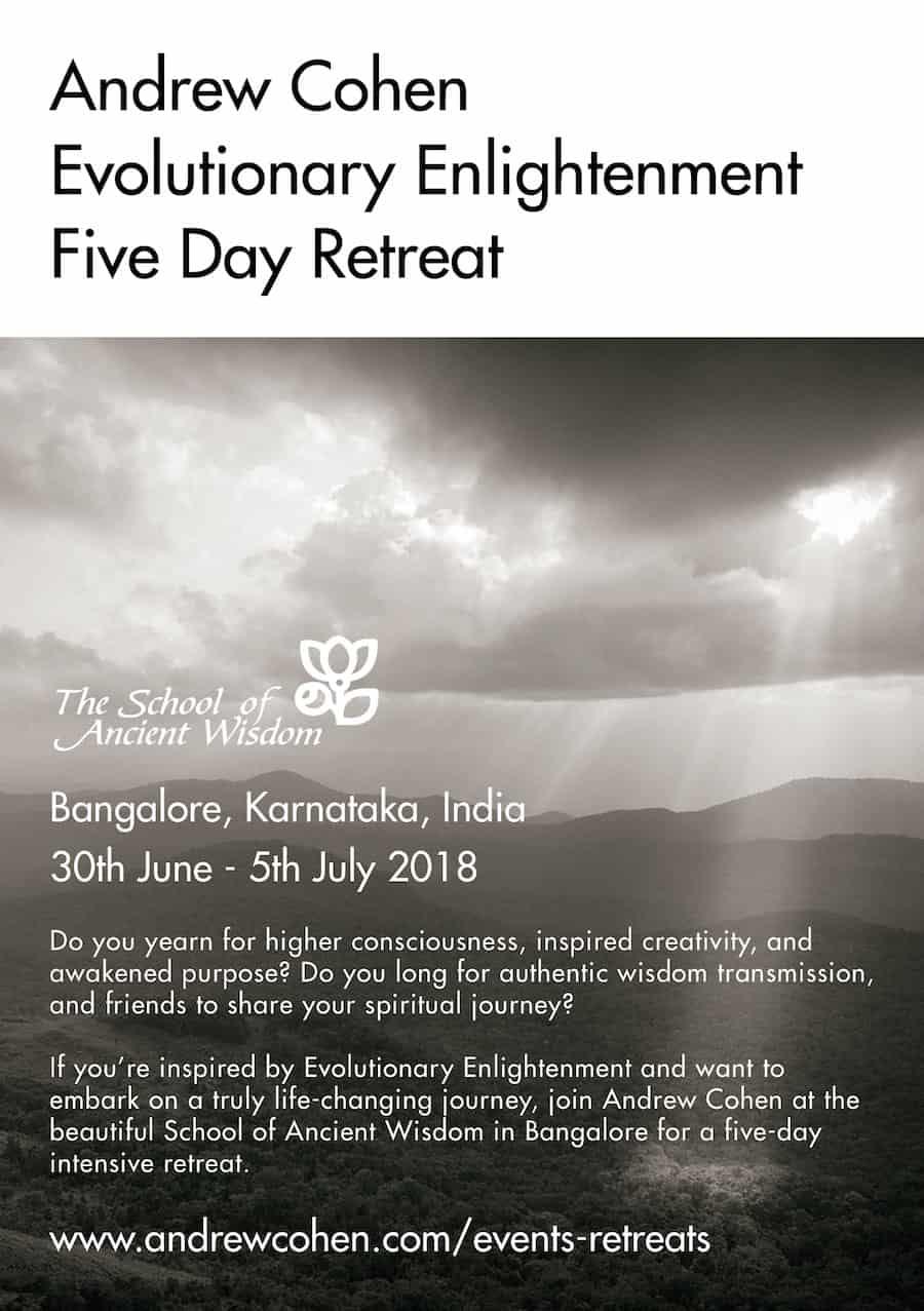 Bangalore Retreat 2018 Flyer