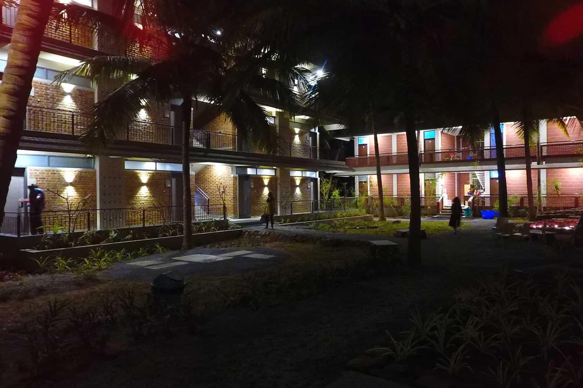 Night time at PVI